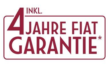 Maximum Care – 4 Jahre Garantie für alle Fiat Pkw-Modelle!
