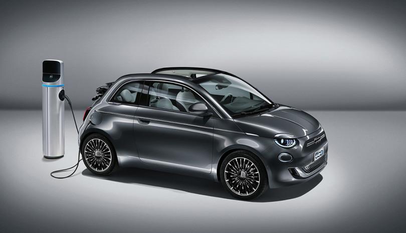 Der neue Fiat 500e – das erste rein elektrisch angetriebene Fahrzeug der Marke
