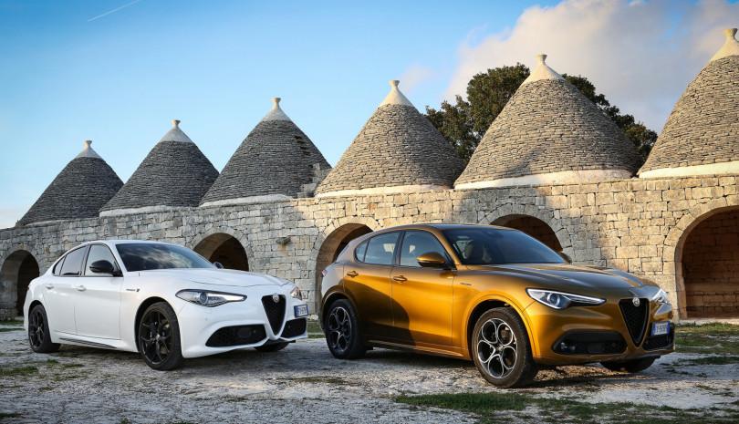 Alfa Romeo GIULIA und STELVIO