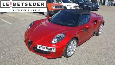 Alfa Romeo 4C Spider bei Autohaus Leibetseder GmbH in Ihre Fahrzeugfamilie