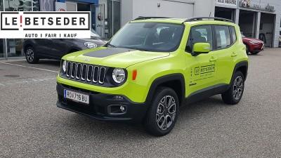 Jeep Renegade 2,0 MultiJet II 120 Longitude AWD bei Autohaus Leibetseder GmbH in Ihre Fahrzeugfamilie