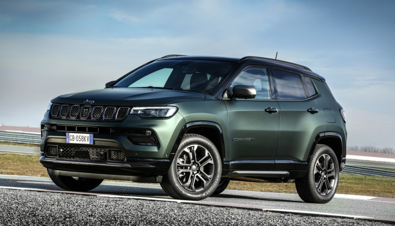 Der Jeep® Compass ab € 24.990,-