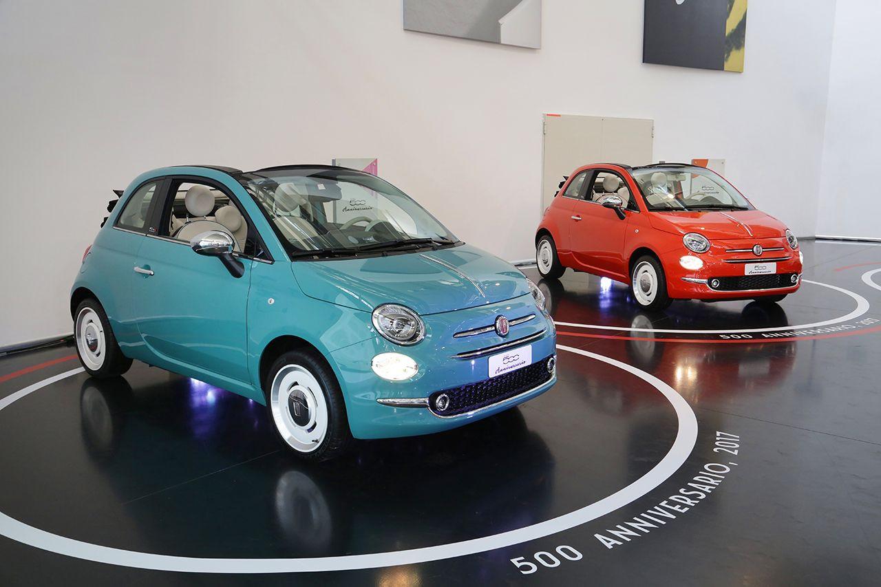 """Der FIAT 500 """"Anniversario"""""""