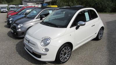 Fiat 500 Cabrio 1,2 Lounge bei Autohaus Leibetseder GmbH in Ihre Fahrzeugfamilie