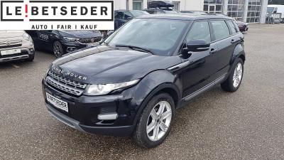 Land Rover Range Rover Evoque Pure 2,2 TD4 bei Autohaus Leibetseder GmbH in Ihre Fahrzeugfamilie