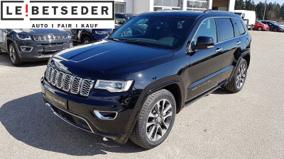Jeep Grand Cherokee 3,0 V6 CRD Overland bei Autohaus Leibetseder GmbH in Ihre Fahrzeugfamilie
