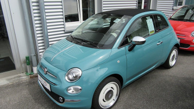 Fiat 500C ECO 1,2 69 Anniversario bei Autohaus Leibetseder GmbH in Ihre Fahrzeugfamilie