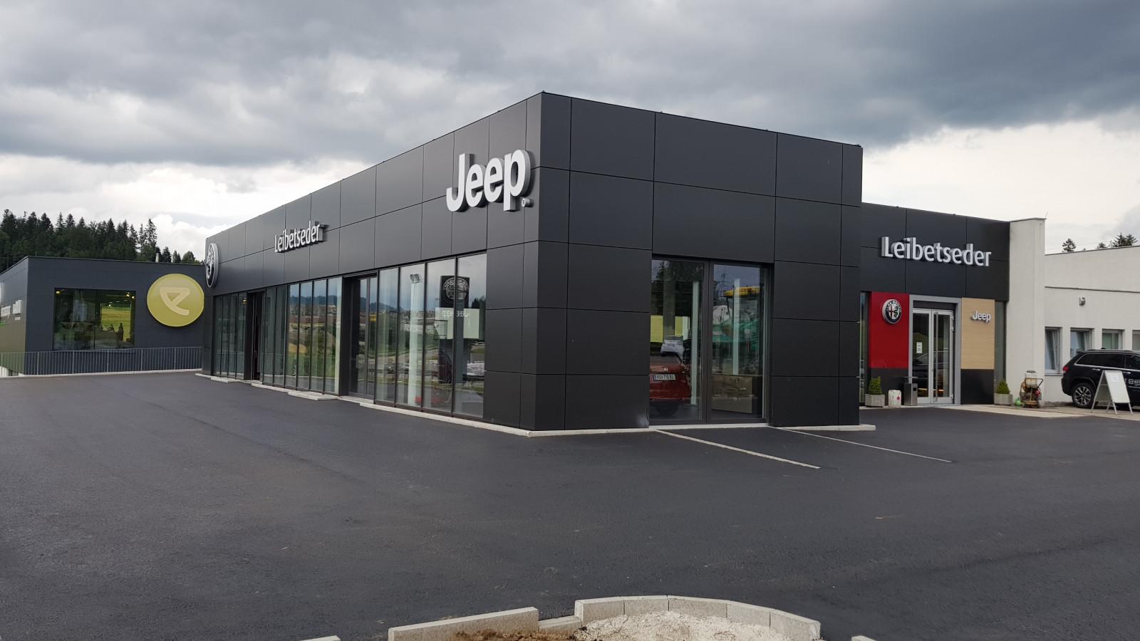 Neuer Schauraum für Jeep & Alfa Romeo