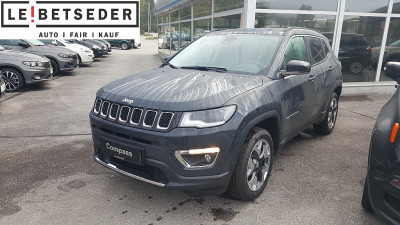 Jeep Compass 2,0 MultiJet II AWD Limited bei Autohaus Leibetseder GmbH in Ihre Fahrzeugfamilie