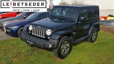 Jeep Wrangler Sahara 2,8 CRD Aut. bei Autohaus Leibetseder GmbH in Ihre Fahrzeugfamilie