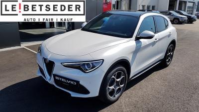 Alfa Romeo Stelvio Super 2,2 ATX AWD bei Autohaus Leibetseder GmbH in Ihre Fahrzeugfamilie