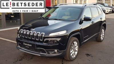 Jeep Cherokee 2,2 MultiJet II AWD Limited Aut. bei HWS || Autohaus Leibetseder GmbH in