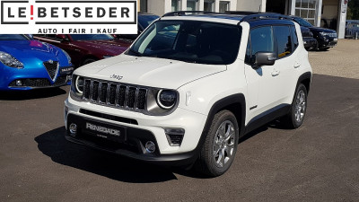Jeep Renegade 1,0 MultiAir T3 FWD 6MT 120 Limited bei HWS || Autohaus Leibetseder GmbH in