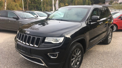 Jeep Grand Cherokee 3,0 V6 CRD Limited bei HWS || Autohaus Leibetseder GmbH in