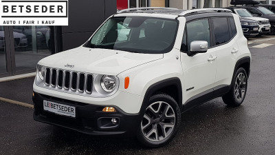 Jeep Renegade 1,6 MultiJet II 120 Limited – Opening Edition bei HWS || Autohaus Leibetseder GmbH in