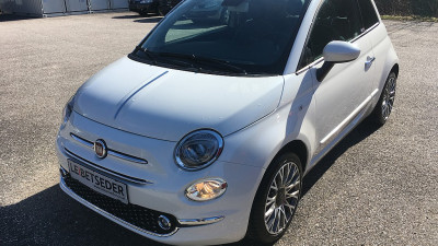 Fiat 500C ECO 1,2 69 Lounge bei HWS || Autohaus Leibetseder GmbH in