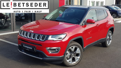 Jeep Compass 2,0 MultiJet AWD 6MT 140 Limited bei HWS || Autohaus Leibetseder GmbH in