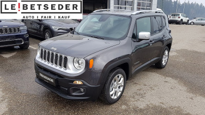 Jeep Renegade 1,4 Multiair2 140 Limited bei HWS || Autohaus Leibetseder GmbH in