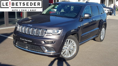 Jeep Grand Cherokee 3,0 V6 CRD Summit bei HWS || Autohaus Leibetseder GmbH in