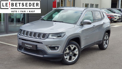 Jeep Compass 2,0 MultiJet AWD 9AT 140 Limited Aut. bei HWS || Autohaus Leibetseder GmbH in