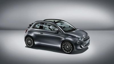Fiat 500C Elektro La Prima bei HWS || Autohaus Leibetseder GmbH in