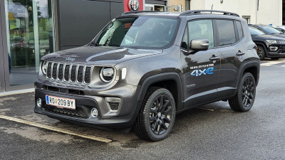 Jeep Renegade 1.3 PHEV AT 4xe Limited bei HWS || Autohaus Leibetseder GmbH in