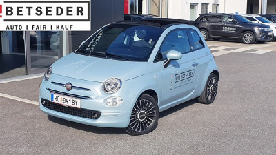 Fiat 500C FireFly Hybrid 70 Launch Edition bei HWS || Autohaus Leibetseder GmbH in