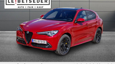 Alfa Romeo Stelvio Veloce 2,2 16V 210 AT8 Q4 bei HWS || Autohaus Leibetseder GmbH in