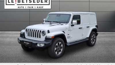 Jeep Wrangler Unlimited Sahara 2,0 GME Aut. bei HWS || Autohaus Leibetseder GmbH in