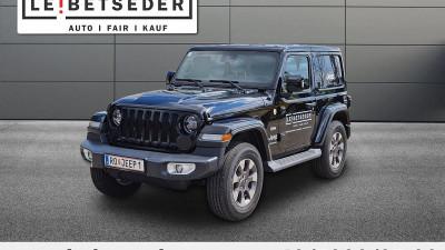 Jeep Wrangler Sahara 2,2 CRDi Aut. bei HWS    Autohaus Leibetseder GmbH in