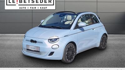 Fiat 500C Elektro La Prima 42 kWh bei HWS || Autohaus Leibetseder GmbH in