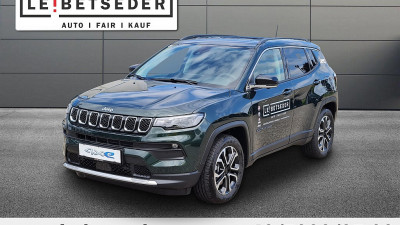 Jeep Compass 1.3 PHEV Limited AT 4xe bei HWS || Autohaus Leibetseder GmbH in