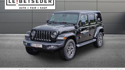 Jeep Wrangler 80th PHEV 2,0 GME Aut. bei HWS || Autohaus Leibetseder GmbH in